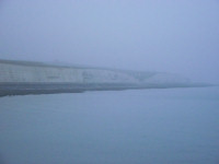 Picture of Brighton cliff tops in the mist