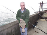Tony McDonald and flounder