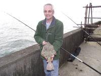 Tony McDonald and flounder