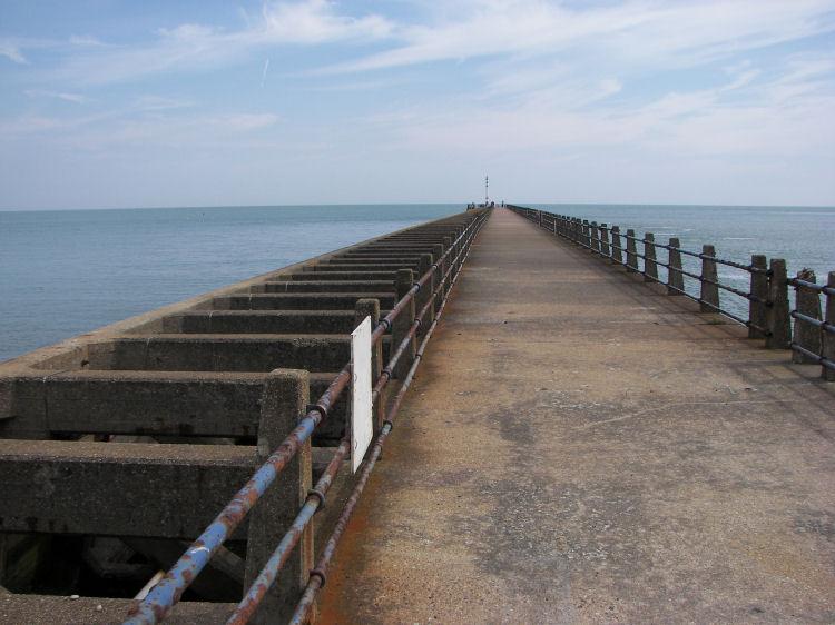 Newhaven pier